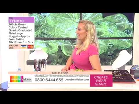 How to Sell Your Jewellery: JewelleryMaker LIVE 19/05/2015