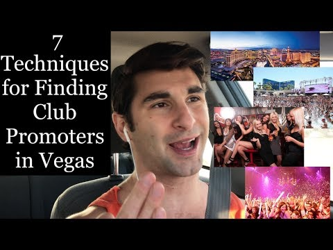 7 Ways to Find Club Promoters in Vegas