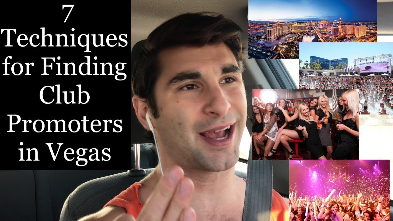 7 Ways to Find Club Promoters in Las Vegas