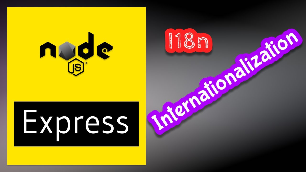 Internationalization i18n in Express