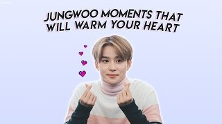 jungwoo moments that will warm your heart
