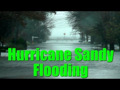 Hurricane Sandy Flooding On Long Island South Shore. Great South Bay Flooding South Shore