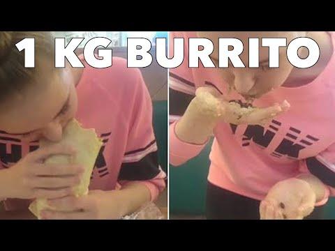 1kg Mad Mex Big Burrito Challenge