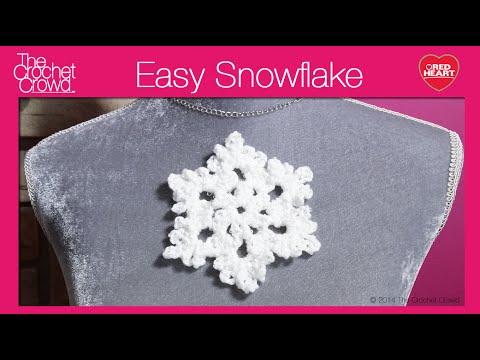 Crochet Snowflake Tutorial Youtube
