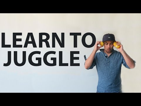 LEARN TO JUGGLE IN 3HOURS AND 44MINS