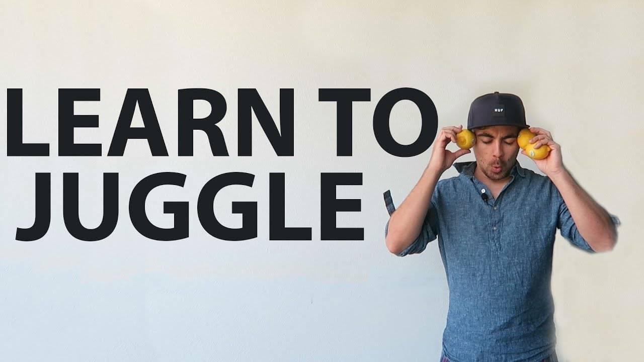 How to learn to juggle 2,3,4 or 5 balls 81