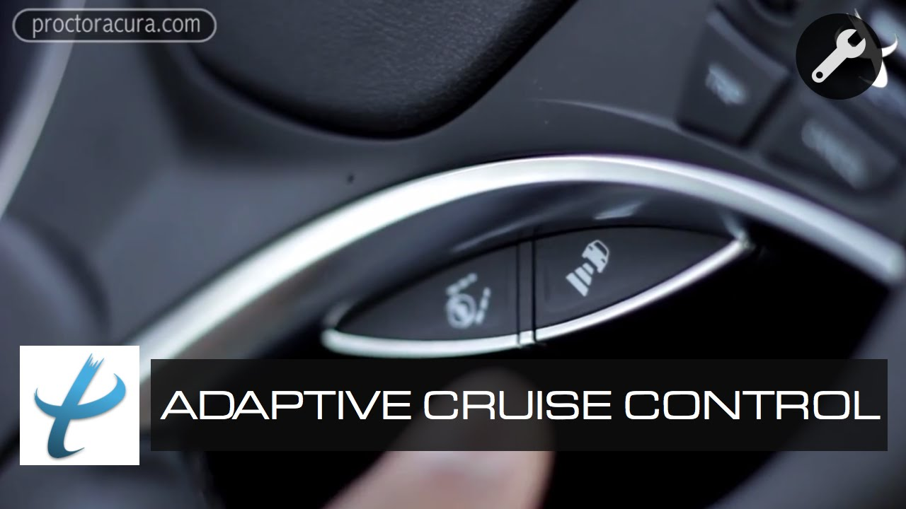2014 Acura MDX Feature Review: Adaptive Cruise Control - YouTube