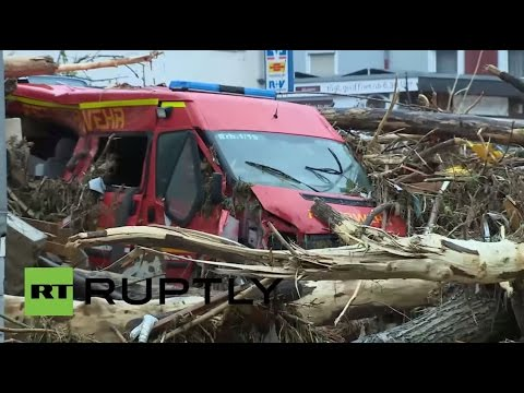 Germany: 3 dead after floods sweep vehicles away in Baden-Wurttemberg