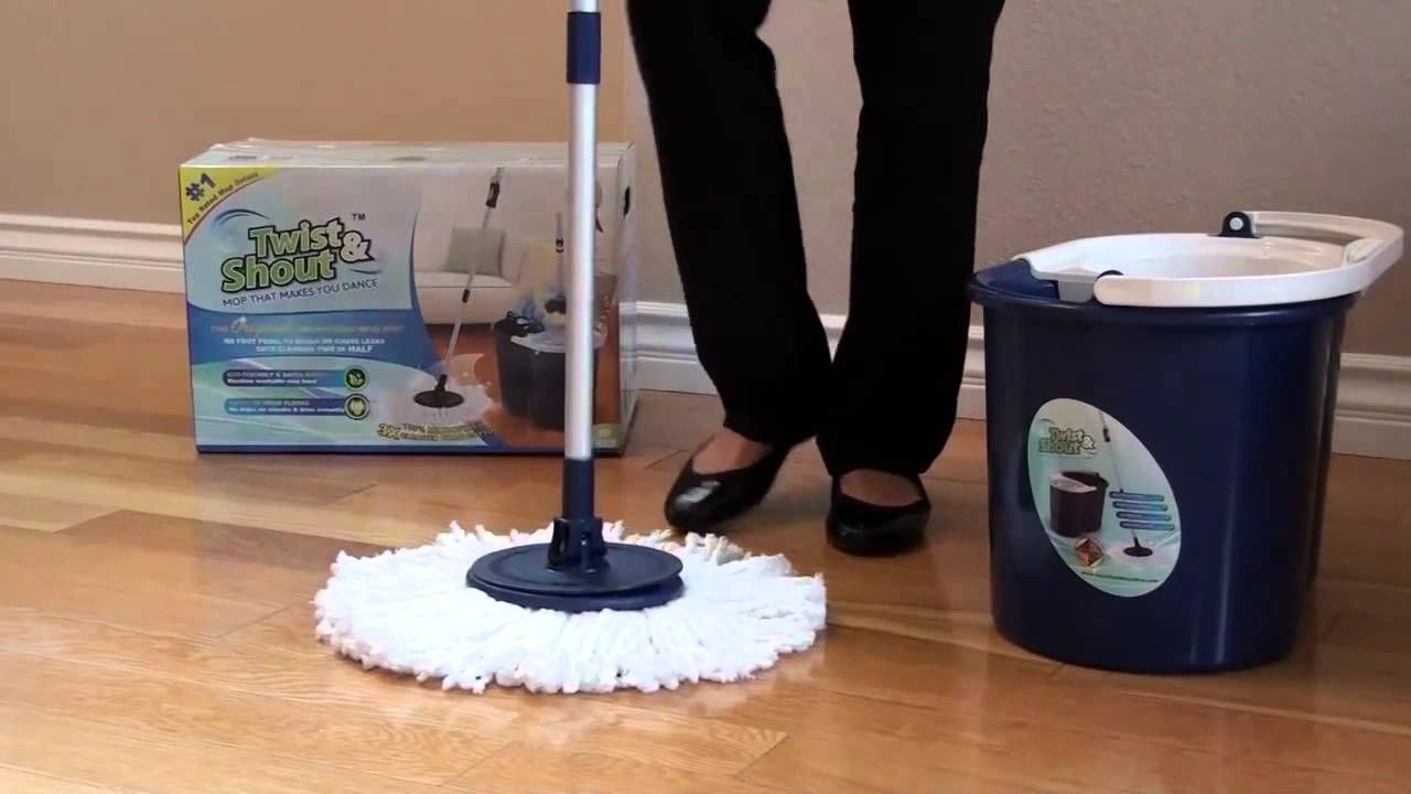 Twist And Shout Mop Attaching Mop Head Instructions