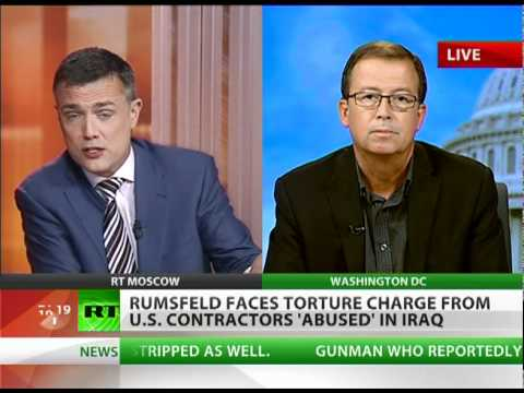Torture trial for Rumsfeld? 'Abused' US contractors file suit