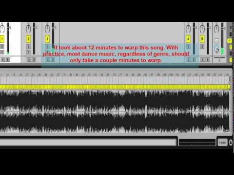 Advanced Warping: How to Warp a Track with Drifting Tempo
