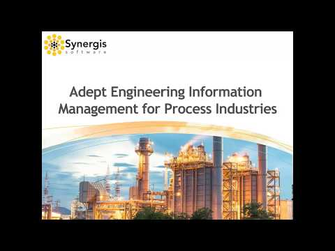 Webinar: Synergis Adept for Process Industries