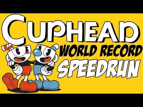 [World Record] Cuphead - All Bosses (Regular) in 24:55