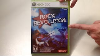Rock Revolution (Xbox 360) Unboxing