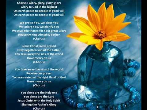Glory(4) Glory To God In The Highest Gloria Hymn Per The New Roman Missal