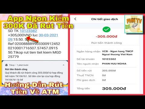 Hướng Dẫn Kiếm Tiền Và Rút Tiền App Tikop   PHN Kiếm Tiền Online