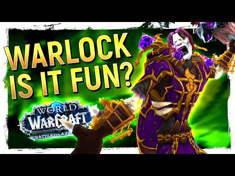 FUN OR NOT? The WARLOCK REVAMP: Battle for Azeroth 80 Review Demonology, Destruction, Affliction