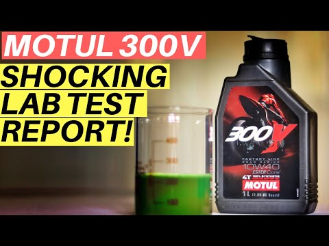 MOTUL 300V LAB TEST WILL SURPRISE YOU SYNTHETIC ENGINE OIL MOTUL 300V VS CASTROL POWER1 RACING 10W40