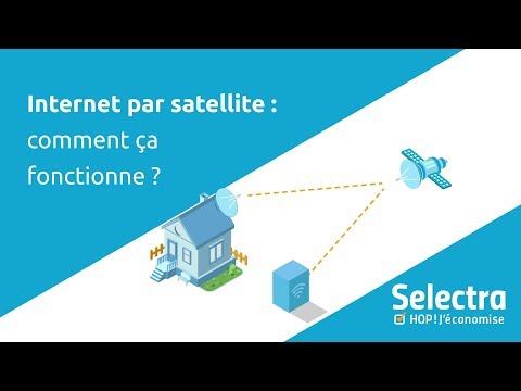 Internet par satellite : comment ça fonctionne ?