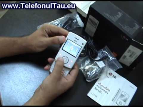 LG Ku580 Review in Romana - www.TelefonulTau.eu -