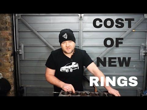PISTON RING JOB COST in BMW M54 engine