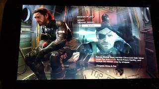 GPD WIN Metal Gear Solid V   Ground Zeroes PC Gameplay