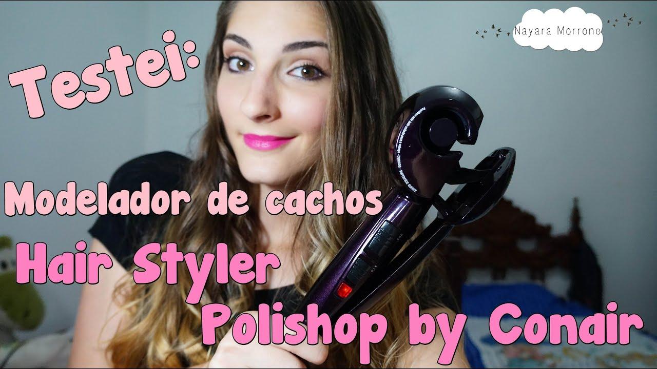 Testei Modelador De Cachos Hair Styler Polishop By Conair