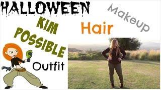 Kim Possible ~ Halloween Makeup, Hair, & Costume!