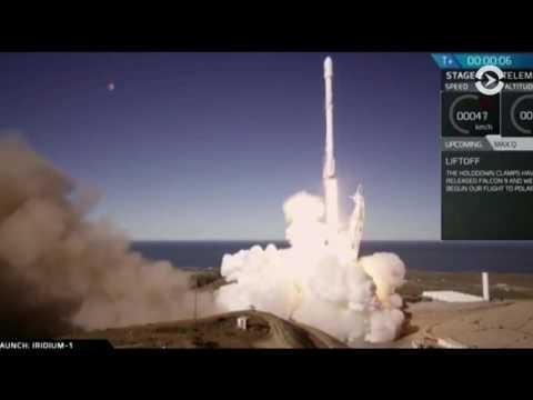 Компания Space X намерена осуществить первый запуск многоразовой ступени ракеты Falcon 9