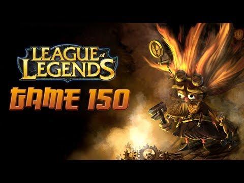 League of Legends Game 150 - Heimerdinger Support!