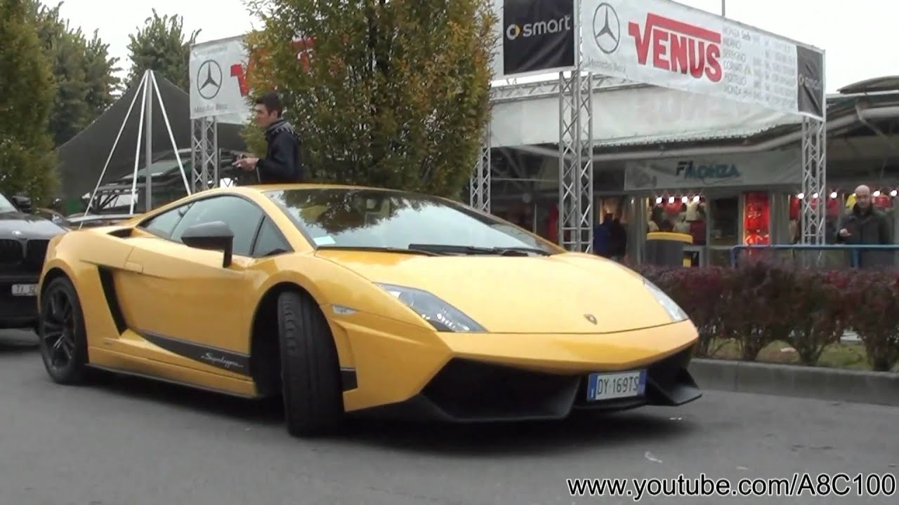yellow lamborghini gallardo lp570 4 superleggera sound