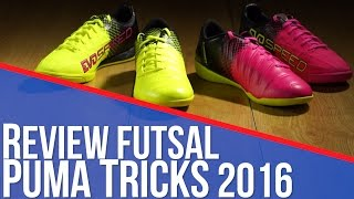 Review Futsal PUMA Tricks 2016