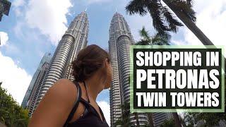 SHOPPING in PETRONAS TWIN TOWERS Mall in Kuala Lumpur, Malaysia  //  174