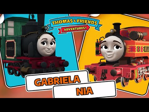 Gabriela From Brazil Vs Nia - Thomas & Friends: Adventures!