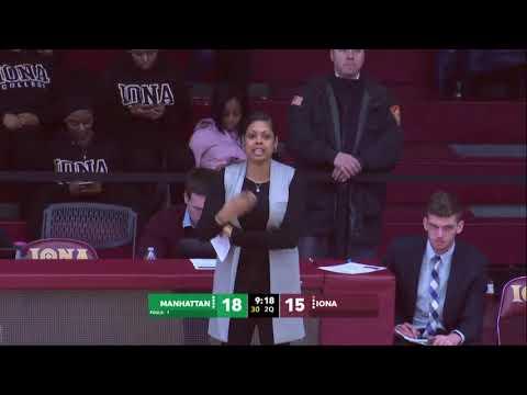 Iona Women's Basketball vs. Manhattan (2/17/18) - Full Game