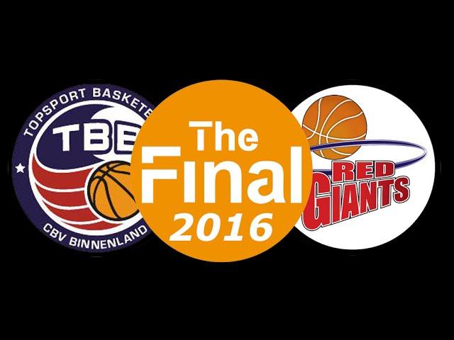 Promo Finale 2016 Binnenland vs Red Giants