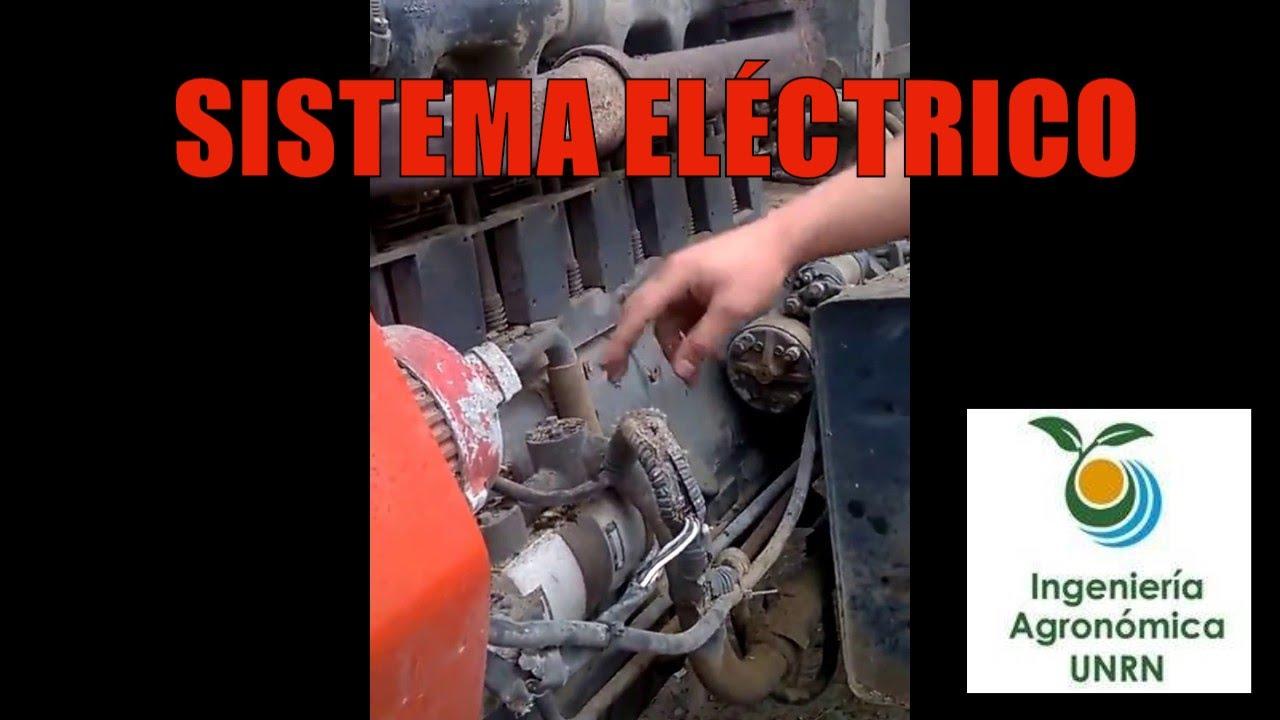 Sistema electrico de un tractor