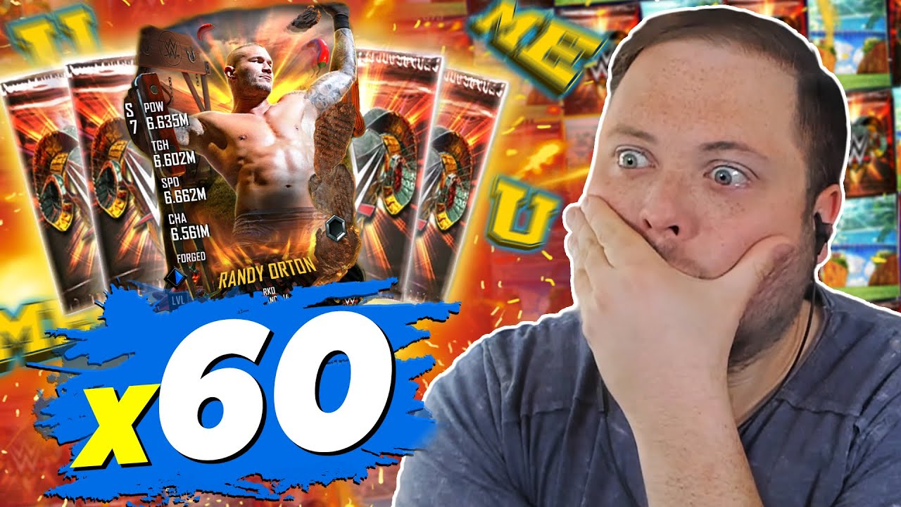 I Opened 60 Summer Packs on WWE SuperCard and the Rewards were Amazing!