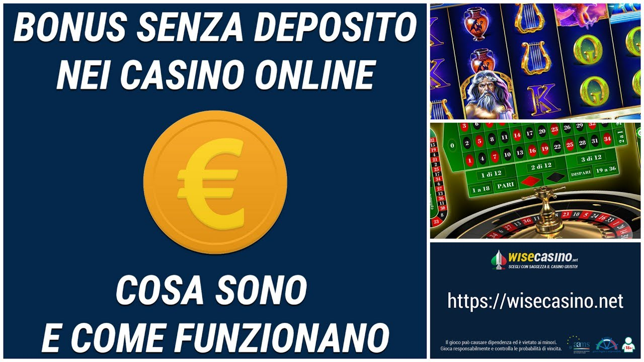 Casino online bonus senza documenti
