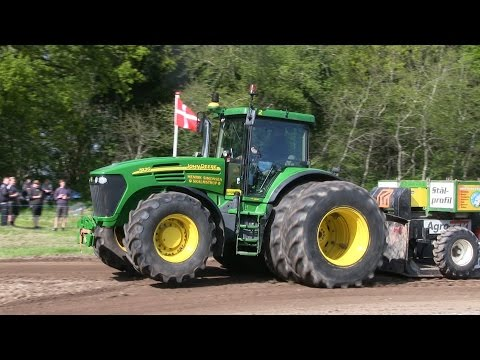 John Deere 8530, 7810, 7920, 7710 | Tractor Pulling Nibe