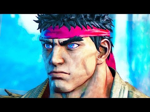 Street Fighter 5 All Cutscenes Movie Story Mode (Including Character Story)