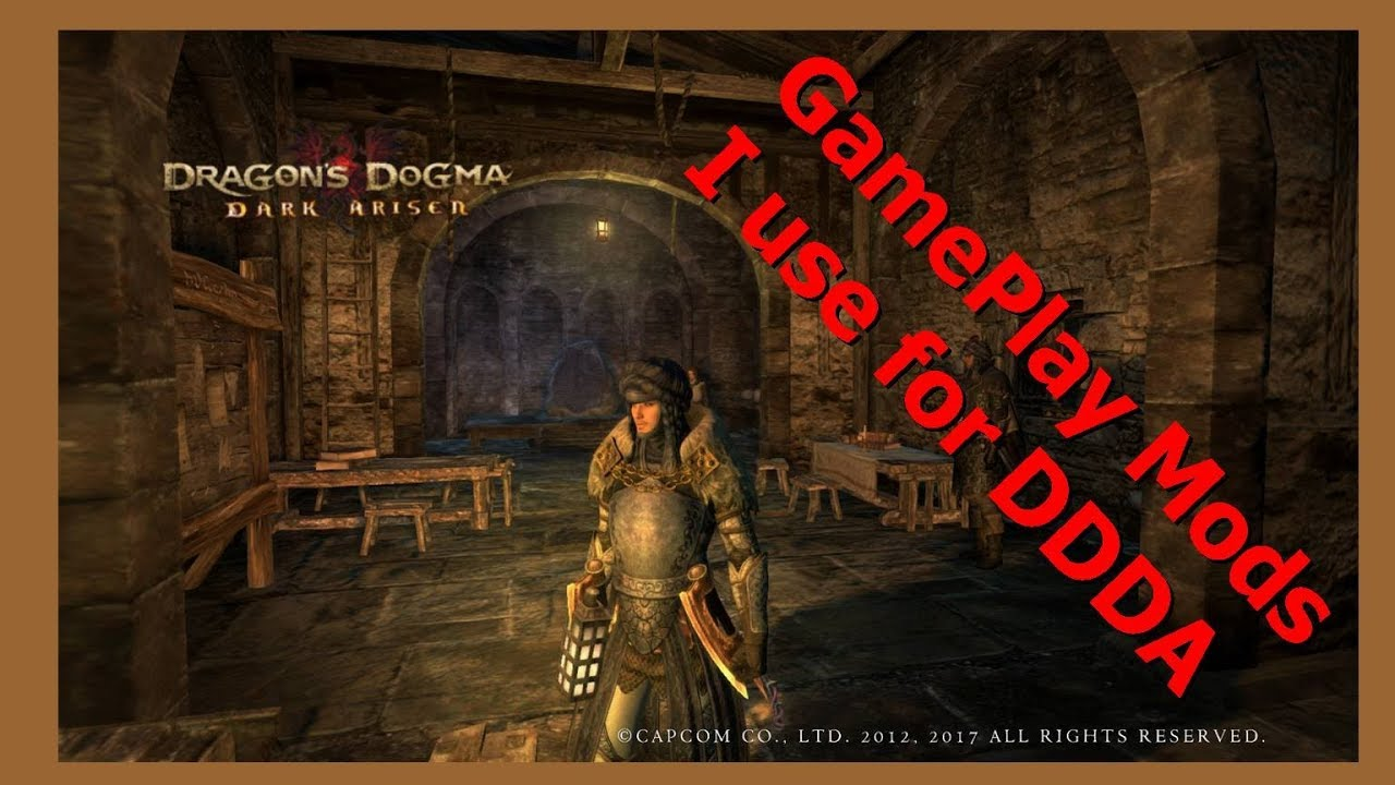 Gameplay Mods I Use for DDDA [ RPGmodsFan ] by RPGmodsFan