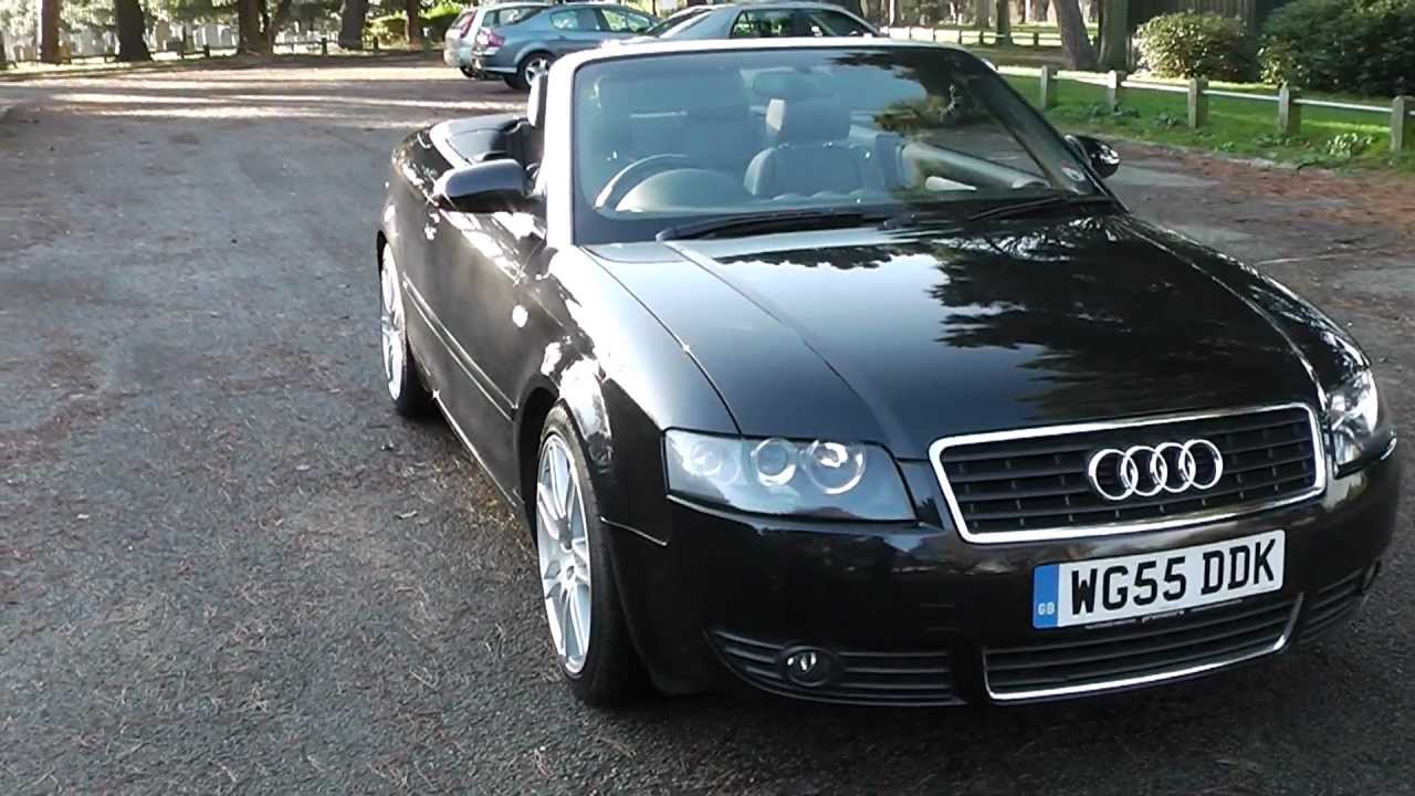 audi a4 3 0 v6 convertible s line sat nav leather 9 975. Black Bedroom Furniture Sets. Home Design Ideas