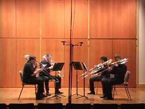 Quartet for Trombones / Leslie Bassett