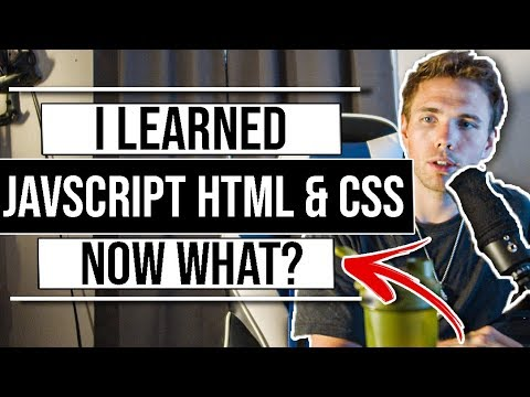 I Learned HTML CSS & JavaScript | Now What? #grindreel