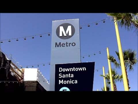 Los Angeles Metro -Expo Line-Santa Monica to Los Angeles-