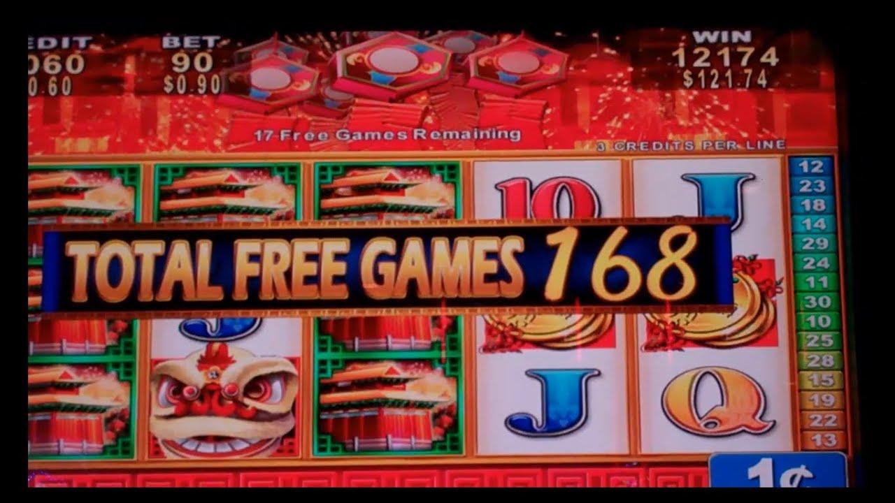 Lion Festival Slot Machine Bonus  280 Free Spins  Mega