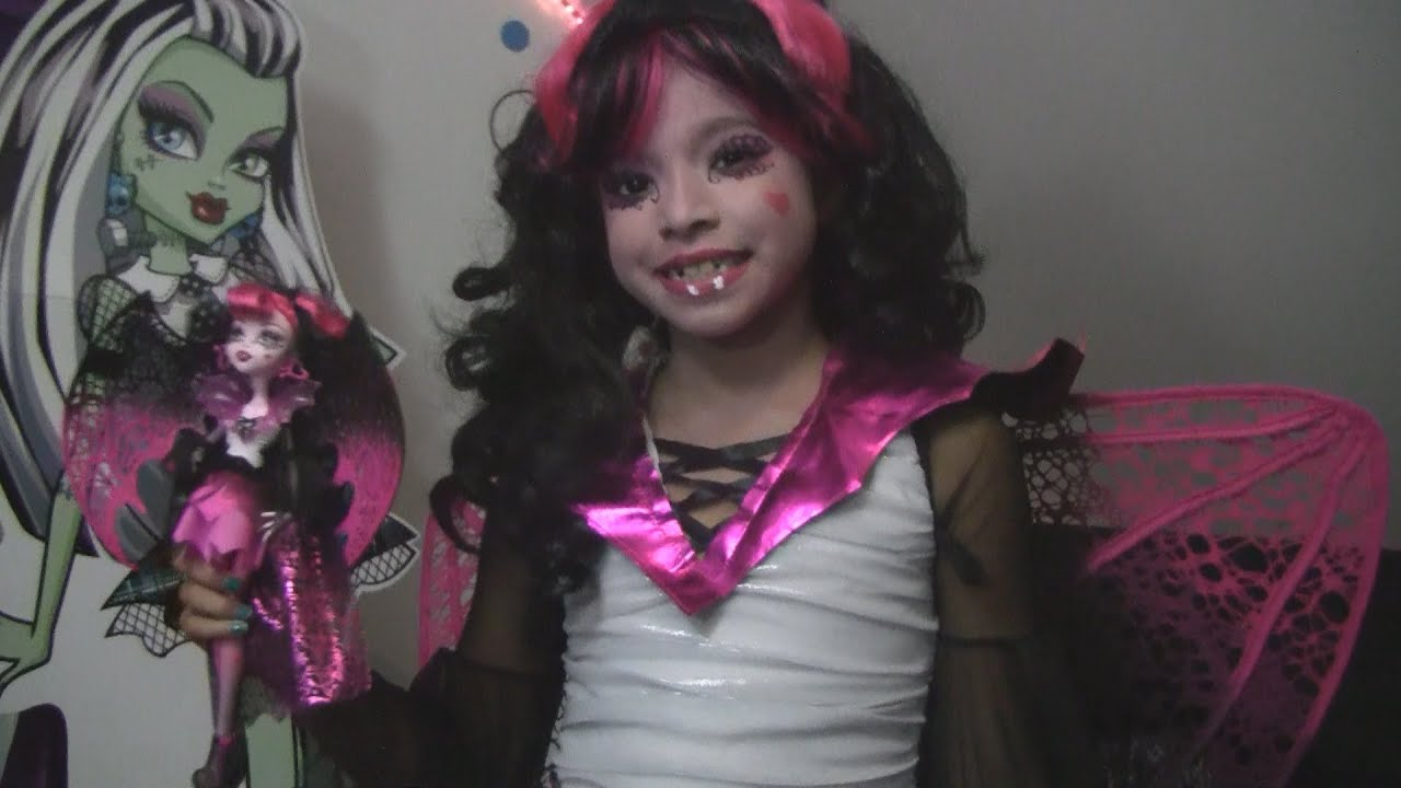 sc 1 st  YouTube & Monster High Costume Ghouls Rule Draculaura - YouTube