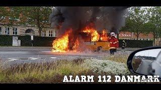 26.09.2019 - Voldsom brand i bus