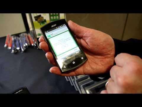 Paiement NFC (sans contact) chez BNP avec un Acer Liquid Express